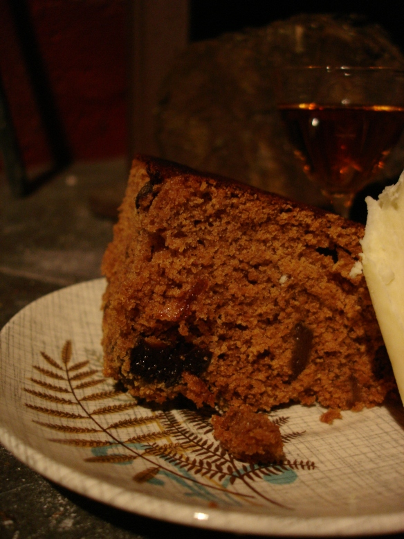 Ginger and Prune Cake