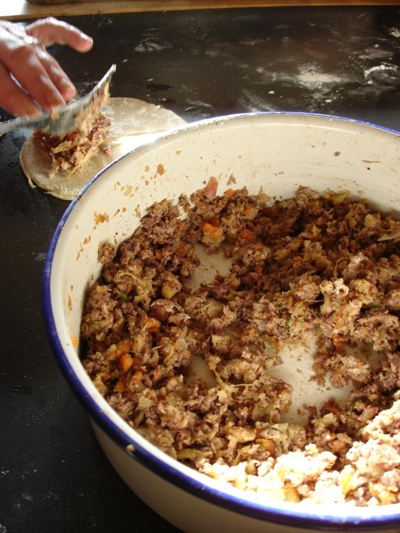 Ma Making Rabbit Pies
