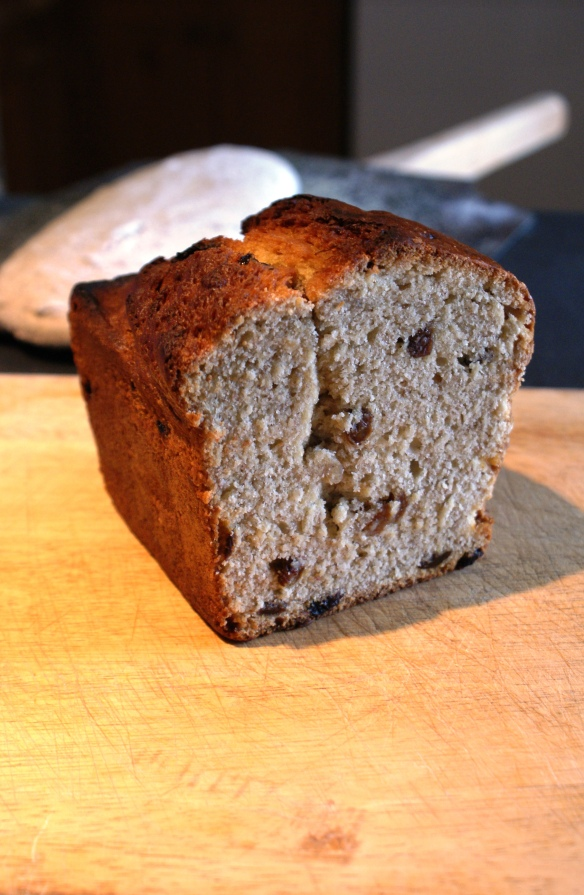 Sourdough Banana Loaf